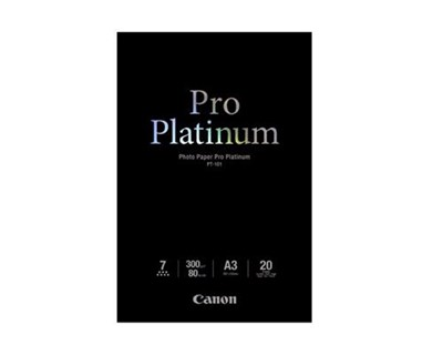 Canon Papper Photo Pro Platinum Pt-101 A3 20-ark 300G