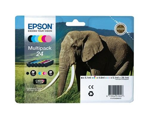 Epson Bläck Multipack 6-colors 24 Claria Foto Hd