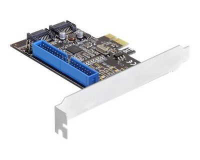 Delock PCI Express Card > 2 x internal SATA 6 Gb/s + 1 x internal IDE