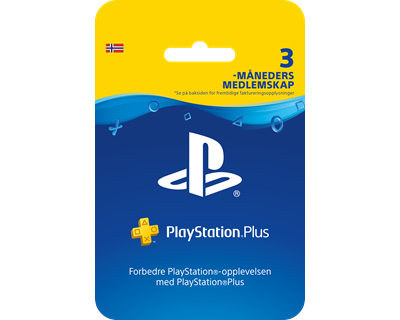 Sony PSN Plus Card 3 Month Subscription