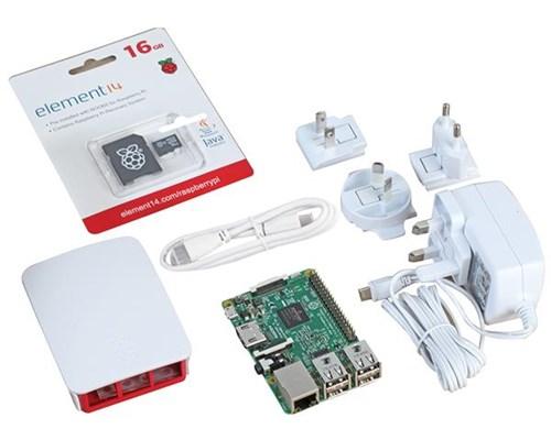 Raspberry Pi Official Raspberry Pi 3 Starter Kit White