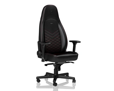 Noblechairs ICON Faux Leather Black/Red
