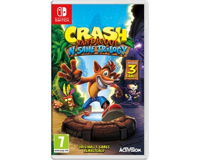 Activision Crash Bandicoot N. Sane Trilogy Nintendo Switch
