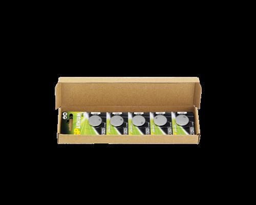 Gp Knappcellsbatteri Lithium 10st Cr2025