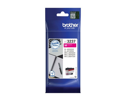 Brother Bläck Magenta Lc-3237m 1.5k