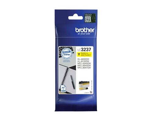 Brother Bläck Gul Lc-3237y 1.5k