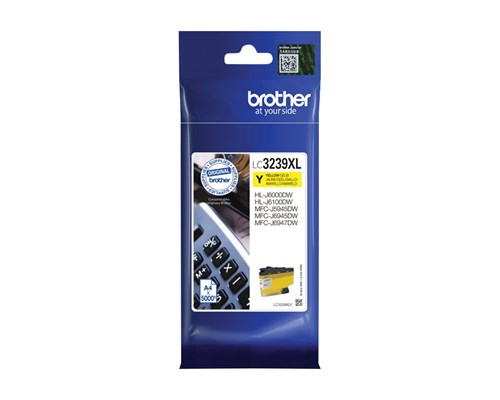 Brother Bläck Gul Lc-3239xly 5k