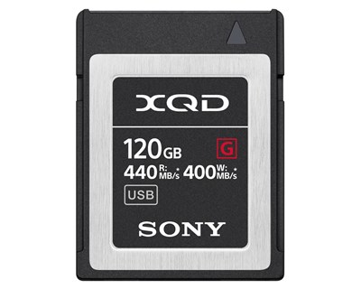 Sony Xqd Card G Series 120GB