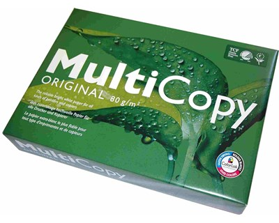 Multicopy Copy Paper A4 80g Unpunched 500/fp 5-Pack