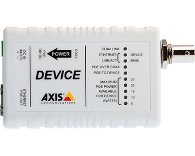 Axis T8642 PoE+ Ethernet Over Coax Device
