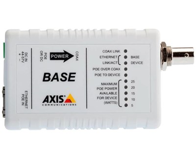 Axis T8641 PoE+ Ethernet Over Coax Base