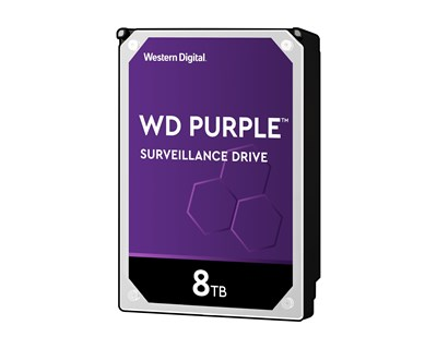 "WD Purple Surveillance Hard Drive WD82PURZ 8TB 3.5"" Serial ATA-600"