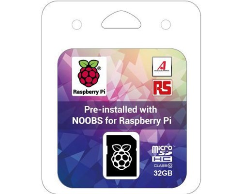 Raspberry Pi 32gb Microsdhc With Noobs