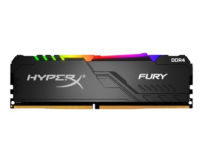 Kingston HyperX FURY RGB 8GB 3,600MHz DDR4 SDRAM DIMM 288-pin