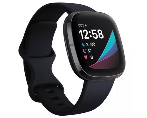 Fitbit Sense Carbon/graphite Aktivitetspårare Svart