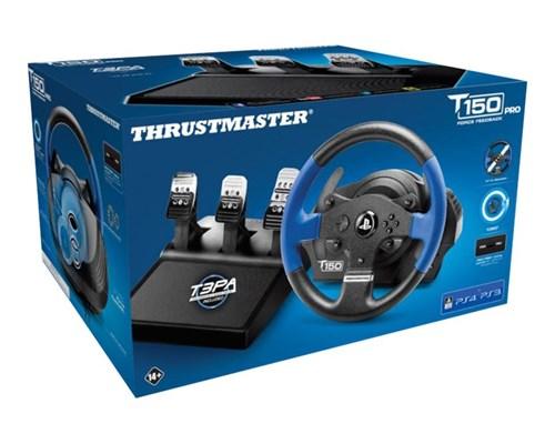 Thrustmaster T150 Pro Blå, Svart