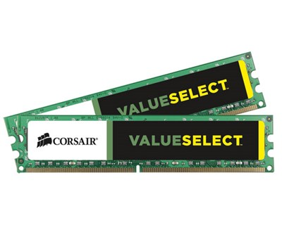 Corsair Value Select 8GB 1,600MHz DDR3 SDRAM DIMM 240-nastainen