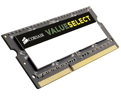 Corsair Value Select 4GB 1,600MHz DDR3 SDRAM SO DIMM 204-PIN