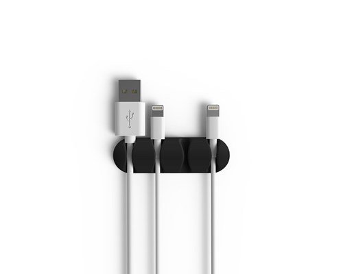 Bluelounge Cabledrop Multi Svart 2-pack