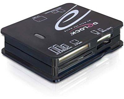 Delock USB 2.0 CardReader All in 1