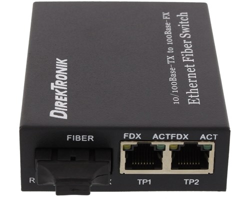 Direktronik 33-4740 Fibermediekonverterare Rj-45 Sc Enkelläge