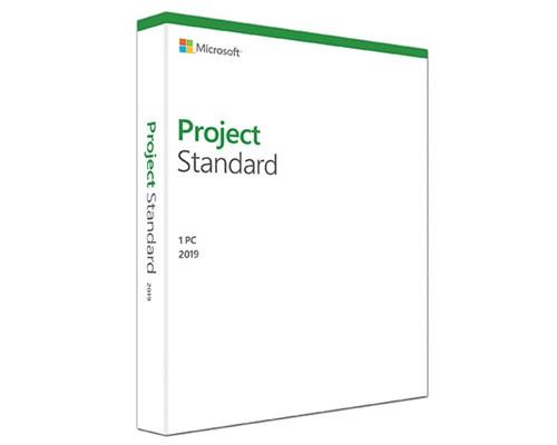 Microsoft Project Standard 2019 Win Svensk Medialess