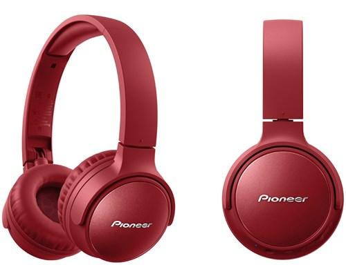 Pioneer S6 Wireless Nc Over-ear Röd