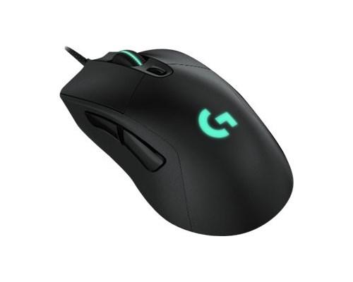 Logitech Gaming Mouse G403 Hero 16,000dpi Mus Kabelansluten Svart