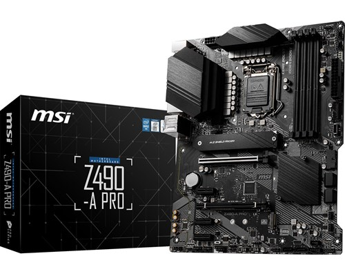 Msi Z490-a Pro Atx Moderkort