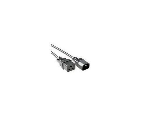 Microconnect Strömkabel 2m Ström Iec 60320 C14 Ström Iec 60320 C19