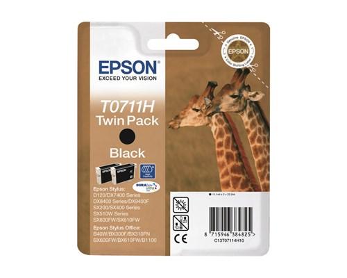 Epson Bläck Svart T0711h High Capacity