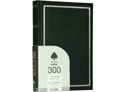 Focus Photo Album Black Line Super 300 11X15